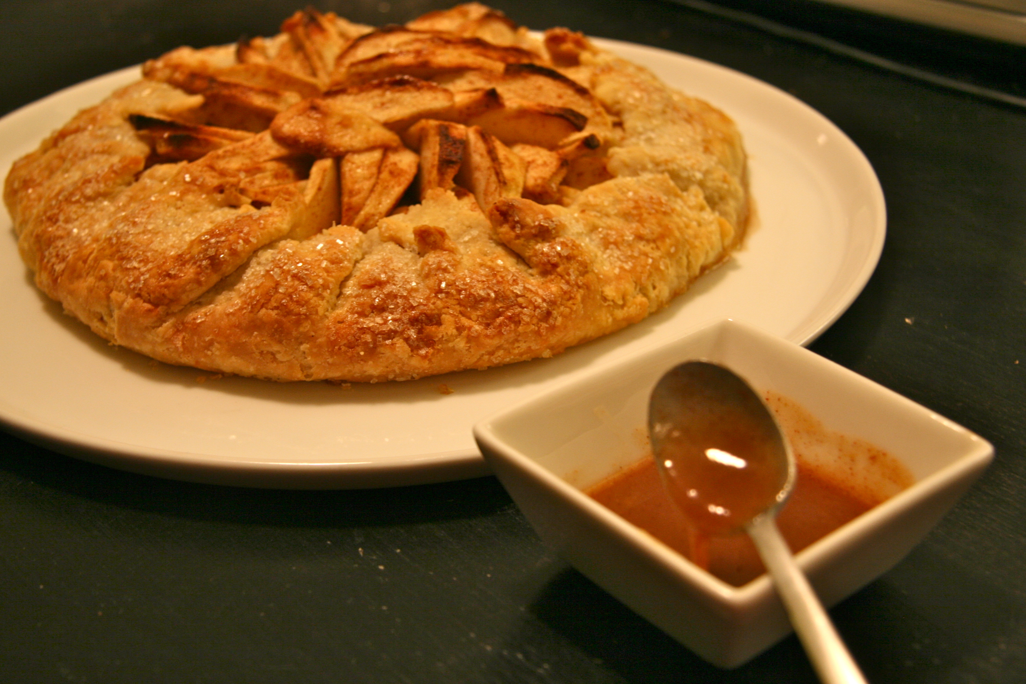 apple galette or free form apple tart or lazy man's apple pie | butter ...