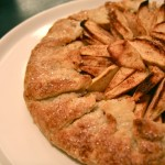 apple galette or free form apple tart or lazy man's apple pie