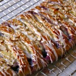 blueberry and cheese danish braid