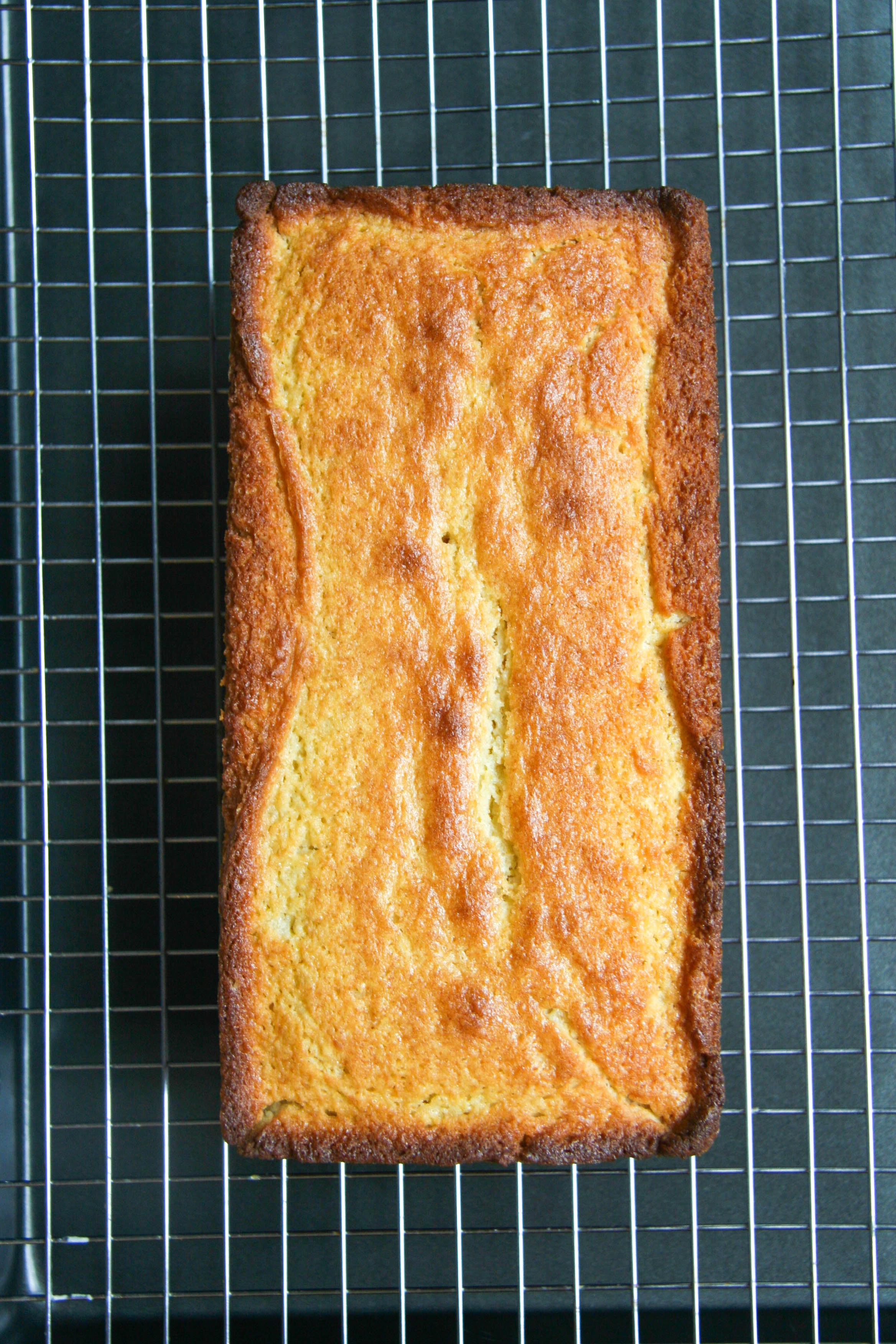 lemon loaf with lavender glaze 3
