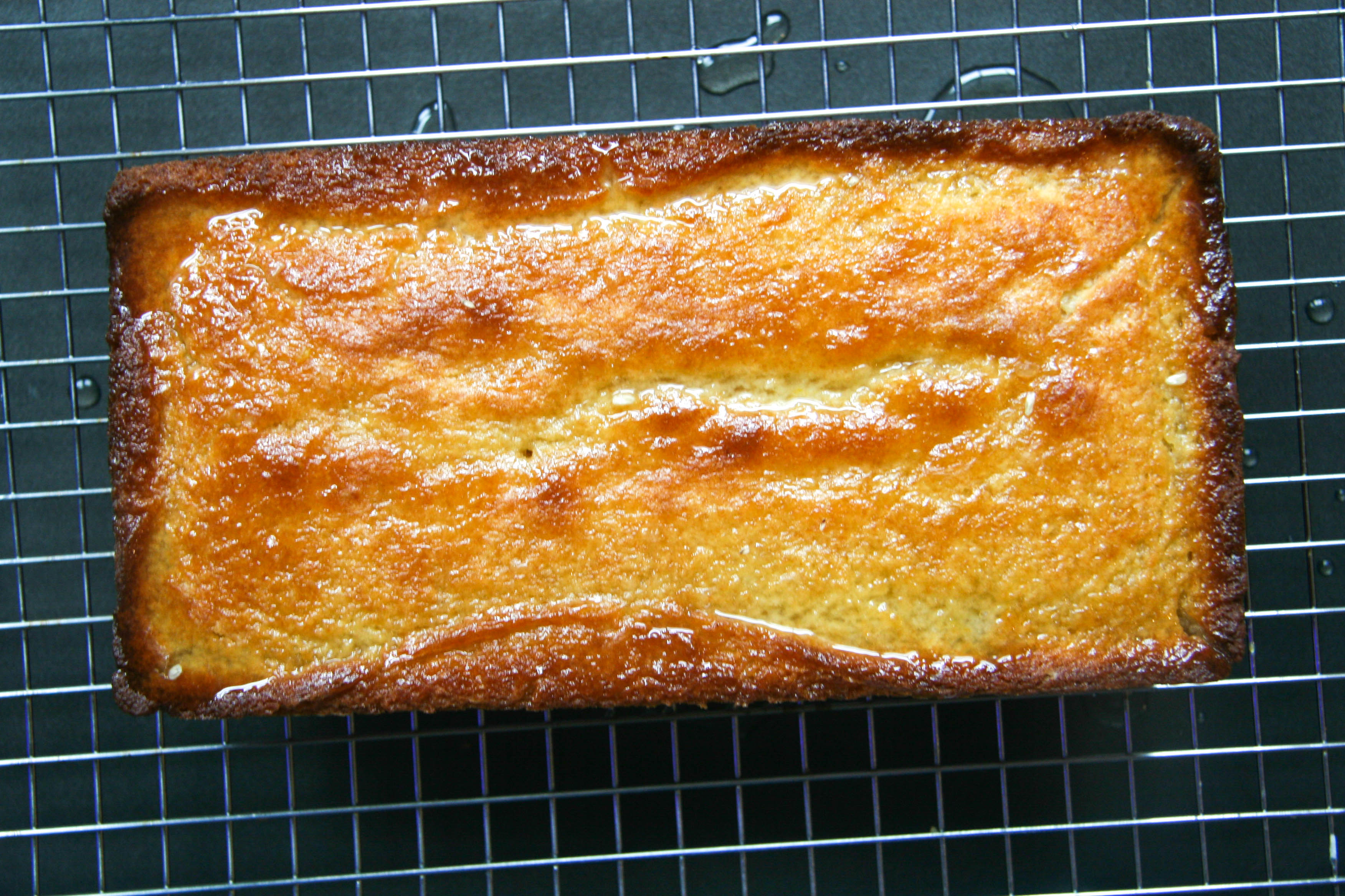 lemon loaf with lavender glaze 4
