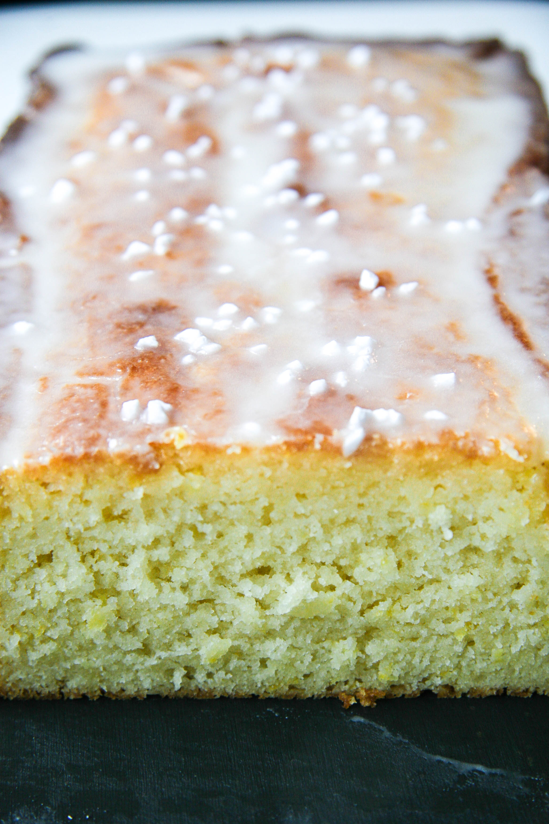 lemon loaf with lavender glaze 8