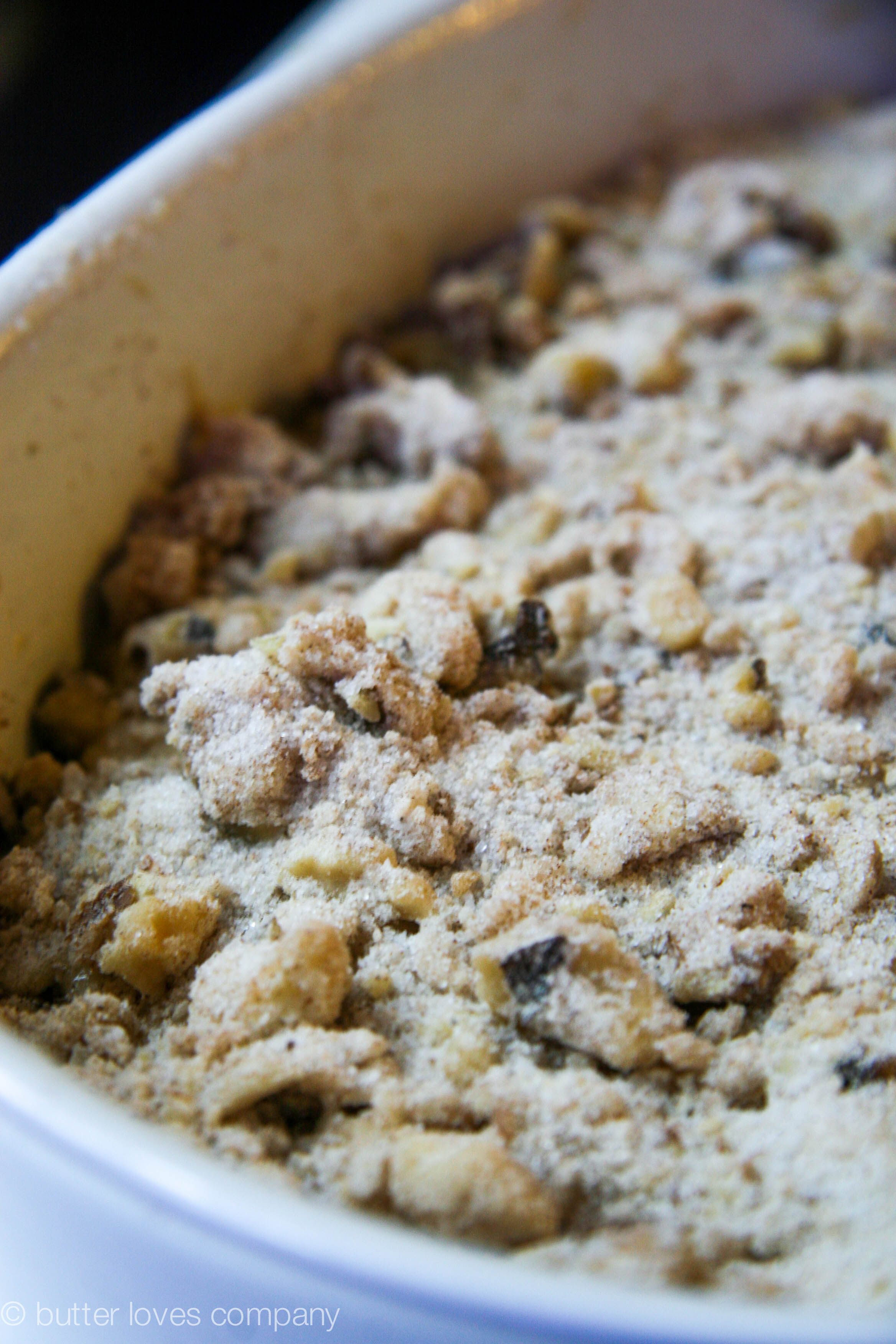 brown butter banana bread with crumble 4
