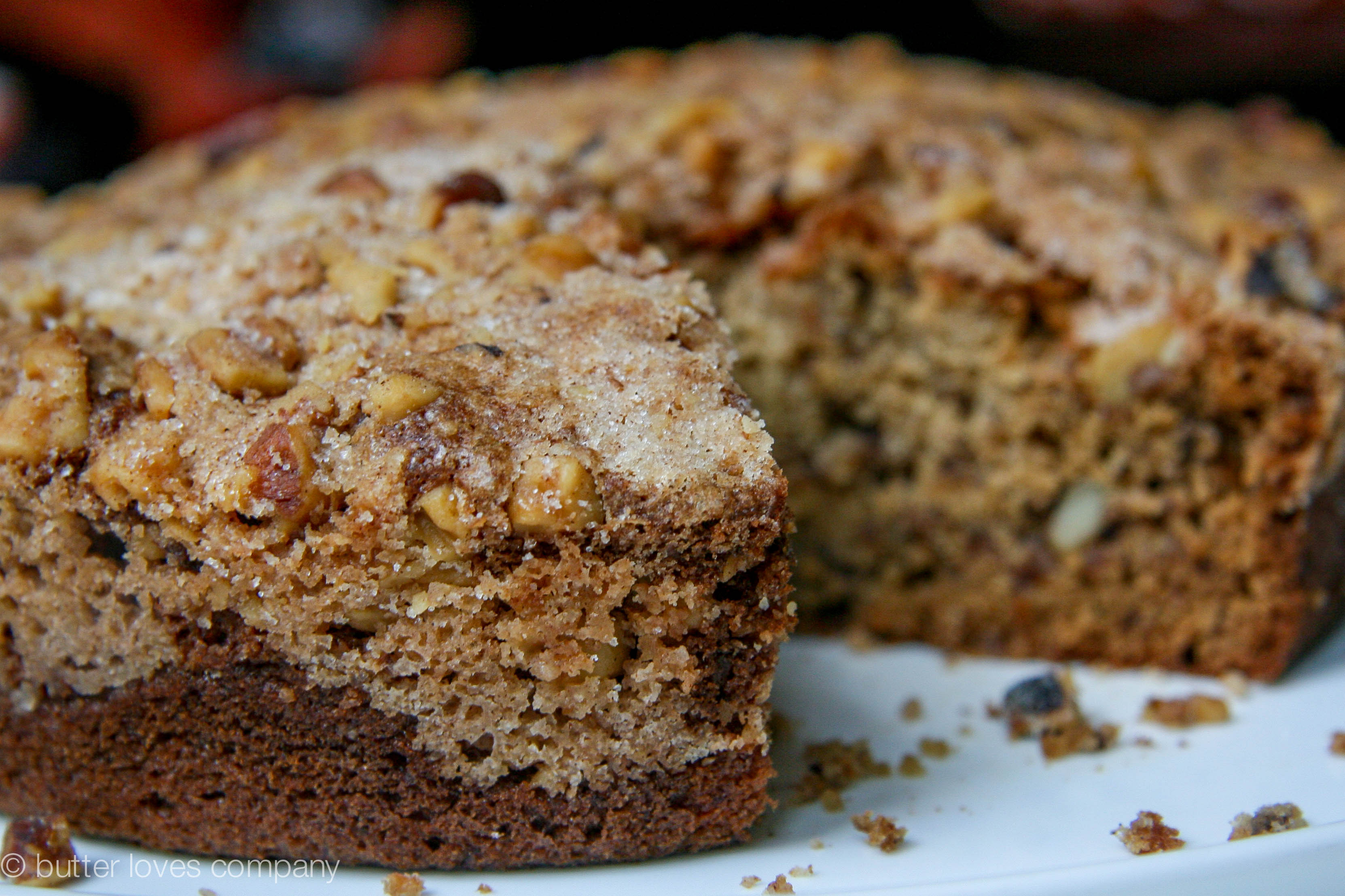 brown butter banana bread with crumble 5
