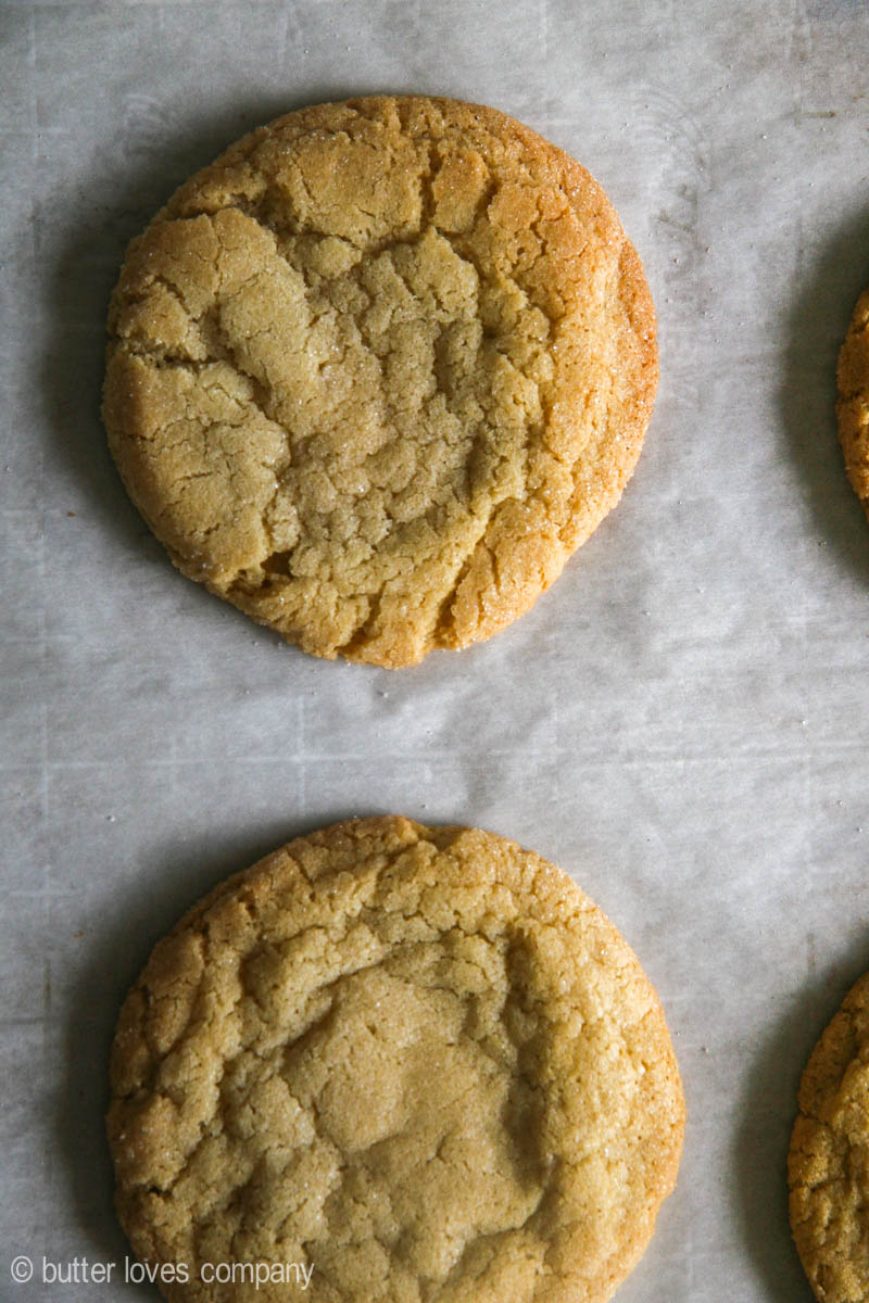 crunchy chewy bakery-style sugar cookies | butter loves ...