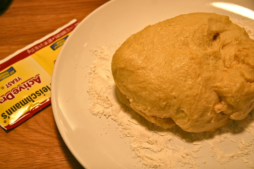 Prepare the beignet dough the day before you'd like to make them.