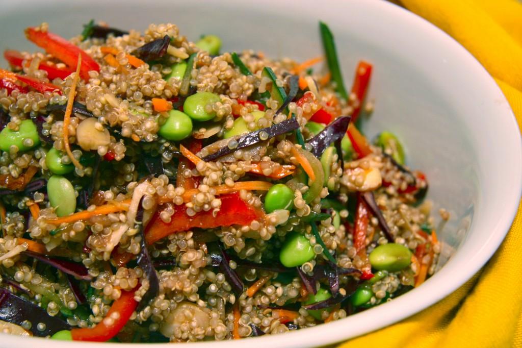 asian quinoa salad1
