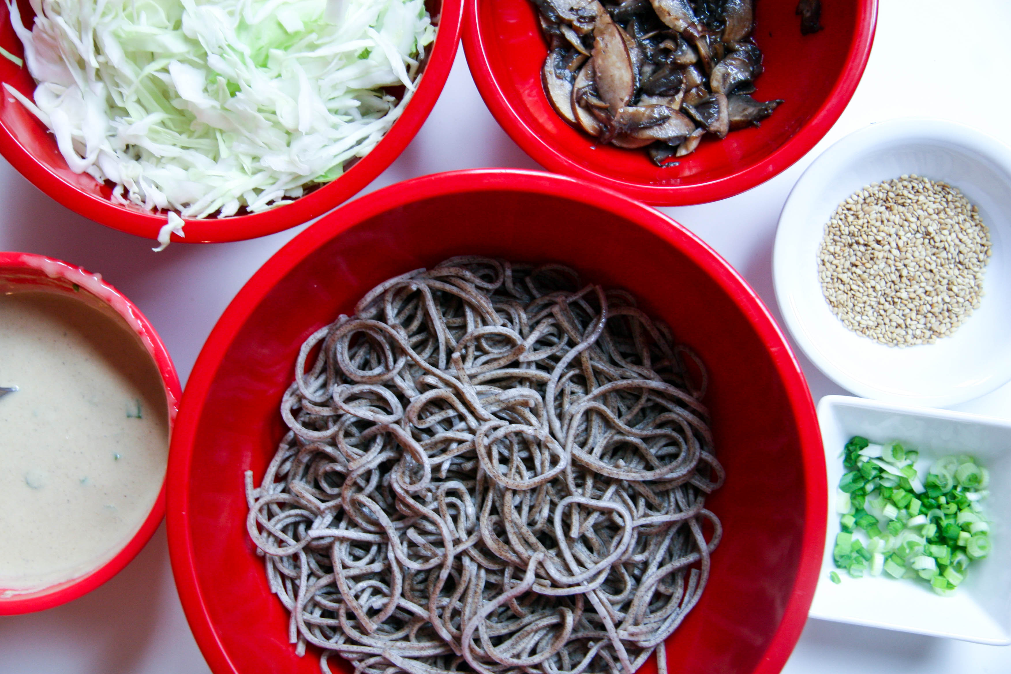 soba noodle salad ready to mix