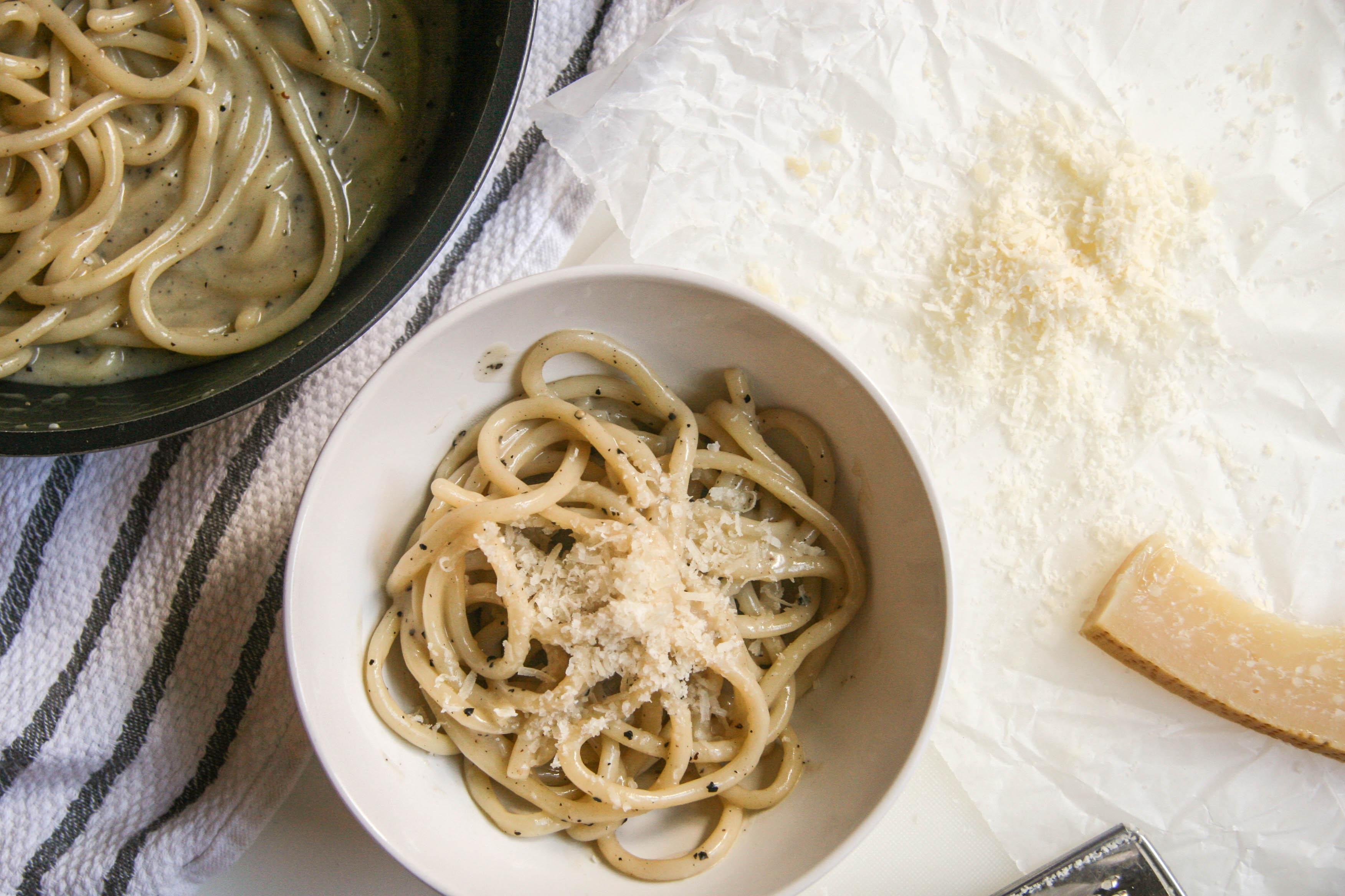 cacio e pepe pasta recipe 9