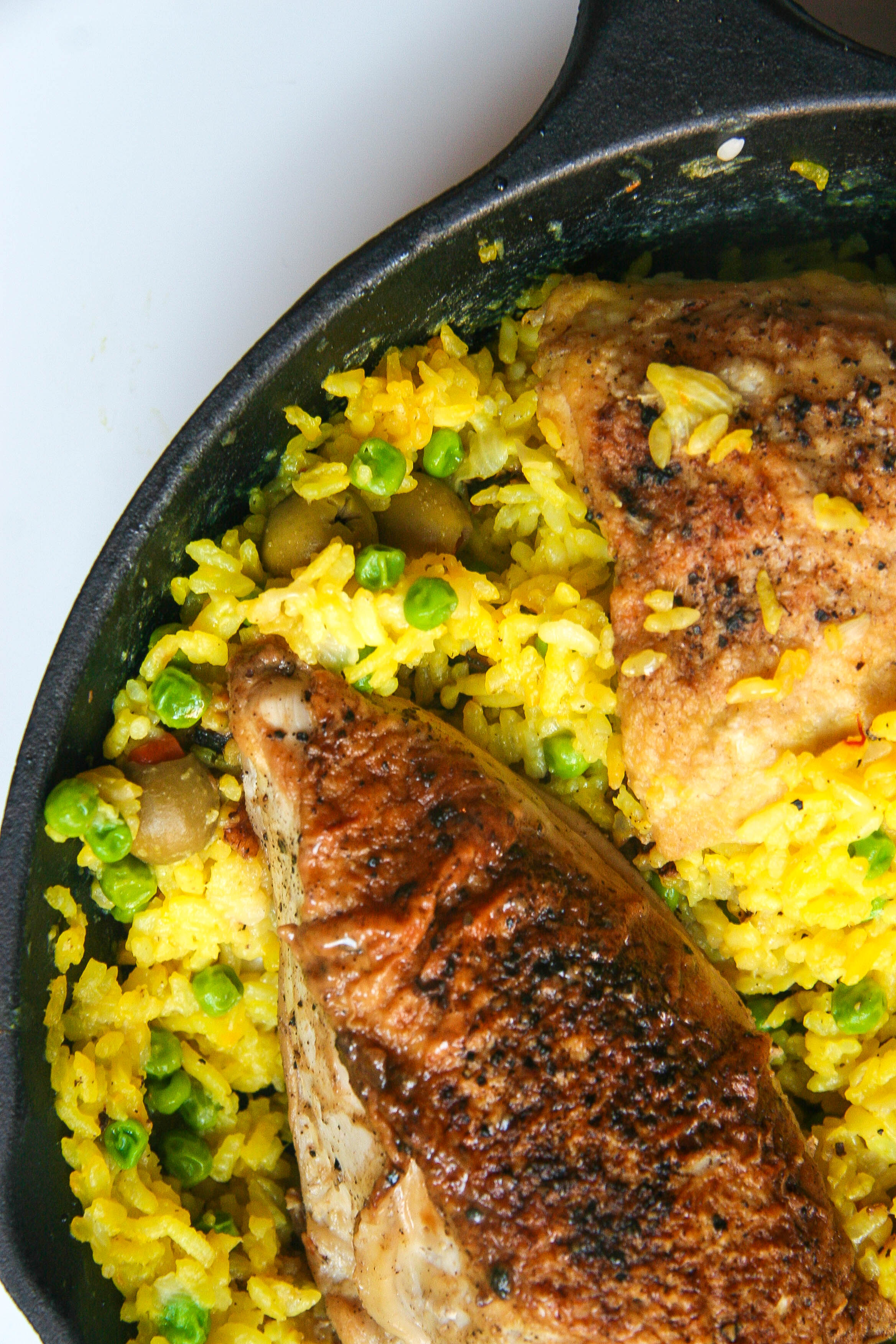 one pot chicken and saffron rice 5