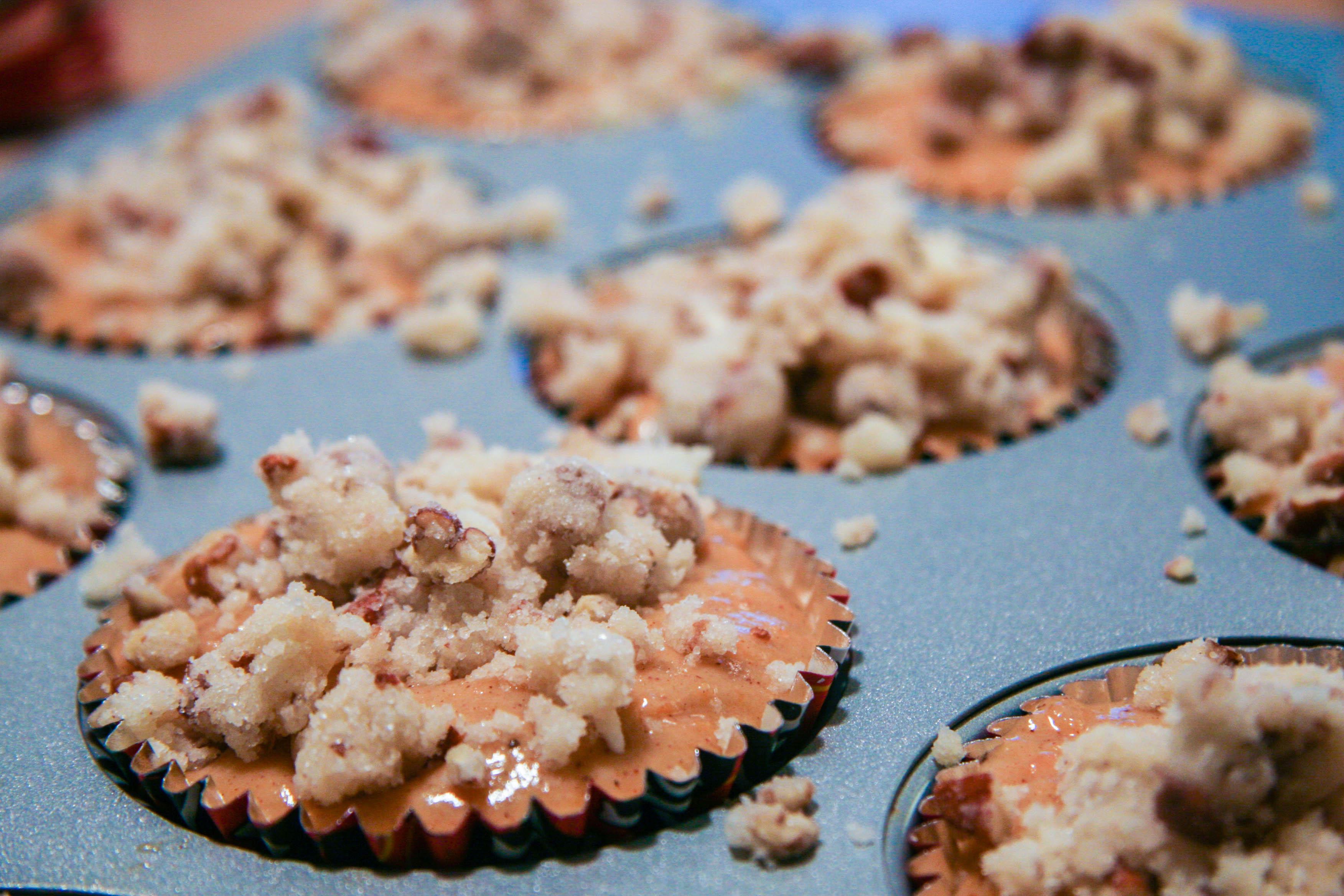 weet potato streusel muffins 5