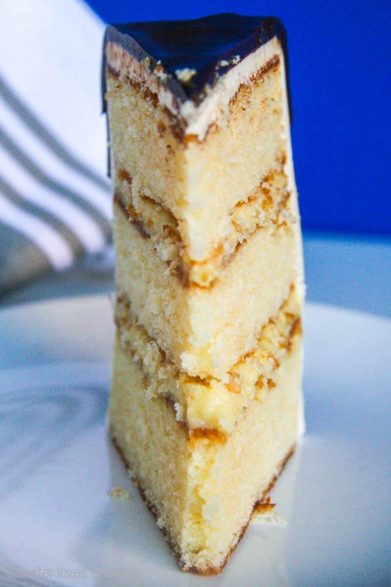 Boston Cream Pie Cake Butter Loves Company