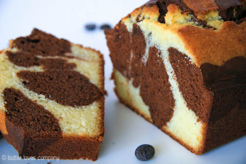 Chocolate Marble Loaf Cake 9