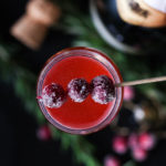 Holiday Brunch and 3 Festive (and Sparkly) Cocktail Recipes