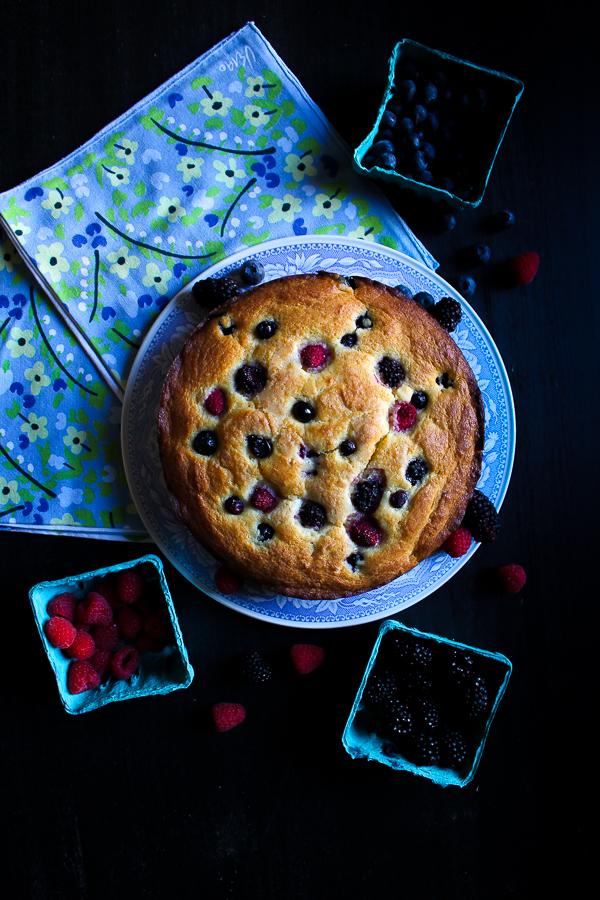 berry-ricotta-cake