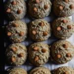 chewy bourbon butterscotch cookies