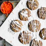 iced carrot cake cookies