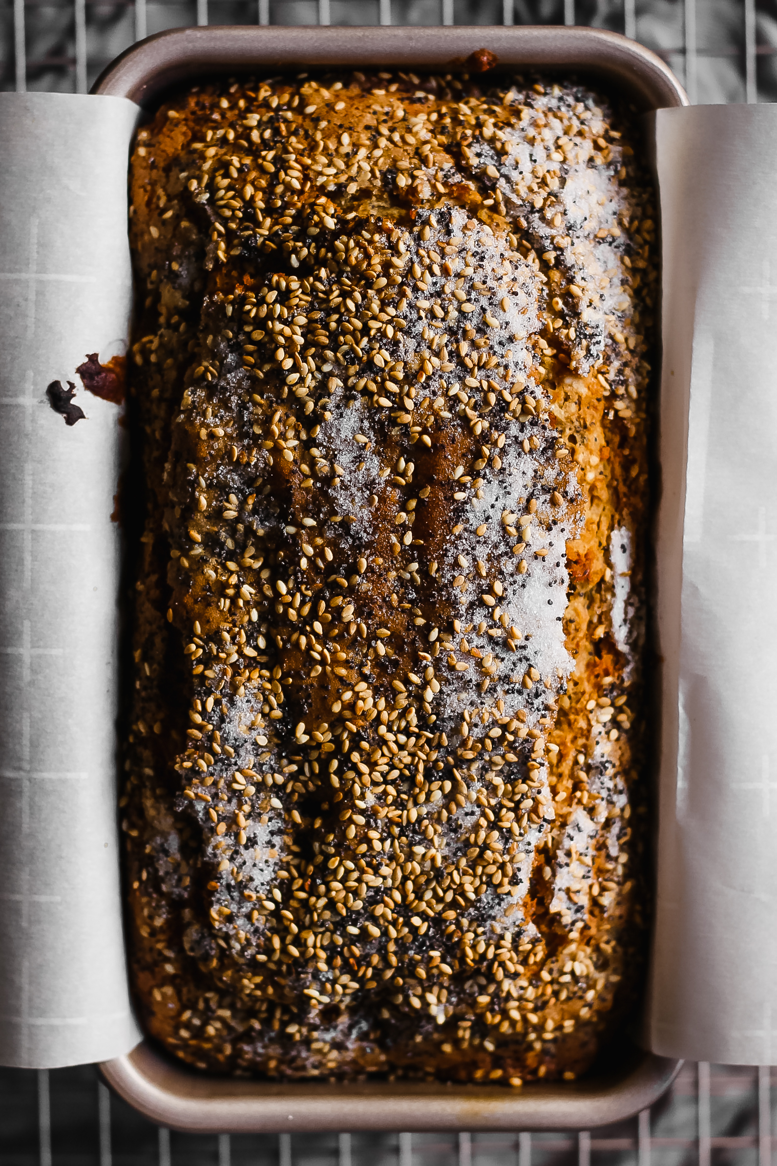Seeded whole wheat banana bread butter loves company from lindsay maitland hunts new cookbook healthyish this seeded whole wheat banana bread is the healthy banana bread recipe you will keep going back to forumfinder Images